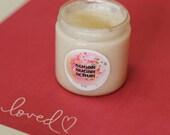 I Heart MERMAIDS Whipped Cream Sugar Scrub -4 oz. Jar Made with Organic Sugar and Whipped Shea Butter- Smells like Berries + Meyer Lemon