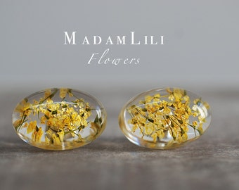 Real Flower Studs