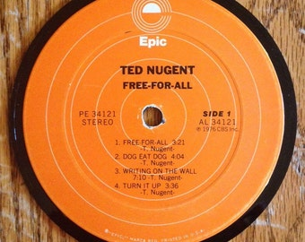 Ted Nugent Coaster