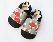 Organic Vegan Charley Fox / non-slip baby shoes / made to order / babies toddlers preschool