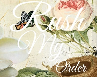 Rush Order Service - US Large Orders Only