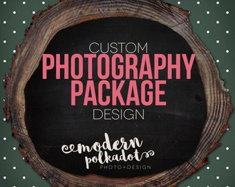 Photography Package (Logo, watermark, 2-sided business card and choice of 2 other designs)