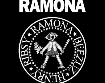 Ramona Quimby, Ramones 11 x 14 poster Print | Beverly Cleary