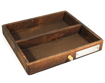 Small Vintage Letterpress Tray