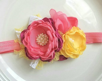 Summer Sunrise headband