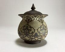 """Coffee Jar (6"""" in diameter)"""