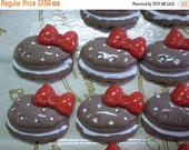 50% OFF - 10 pcs Resin Cookie Cabochons