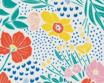 Cloud 9 Fabrics - Lore by Leah Duncan - Secret Garden in Multi Organic