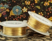 Jewelers Brass Wire - You Pick 4, 6, 8, 10, 12, 14, 16, 18, 20, 21, 22, 24, 26, 28, 30, 32 gauge - 100 Percent Guarantee