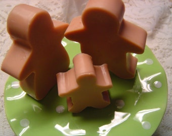 GINGERBREAD FAMILY SOAP, Gingerbread Cookie Soap, Gingerbread Man, Christmas Soap, Gingerbread Soap, Gingerbread Boy, Gingerbread Girl