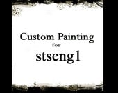 CUSTOM Painting for stseng1 1 painting 36x48x1.1/4 Ready To Hang by Bethany Sky Whitman