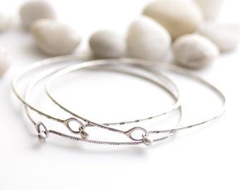 Silver Knot Remember Me Bracelet