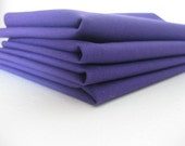 Royal Purple Napkins and Centerpieces