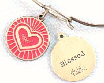 Blesses Reminder Token Charm Bracelet or Necklace