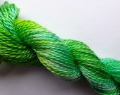 Spring Mint Hand Dyed Tencel Thread Size 8