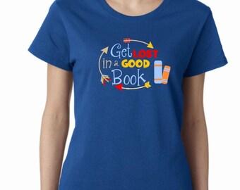 Reading shirt, book lover's tee, teacher reading shirt, Bookworm shirt, inner nerd shirt, librarian shirt,Read Across America tee, school t