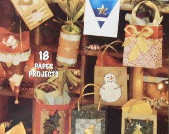 1997 McCall's Creates Petite Paper Bags Book