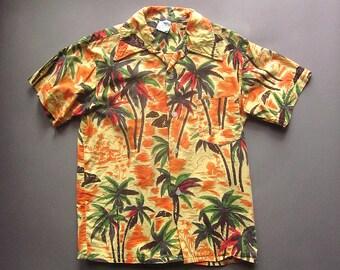 Boys Vintage Hawaiian Shirt