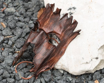 Tree Ent Leather Mask