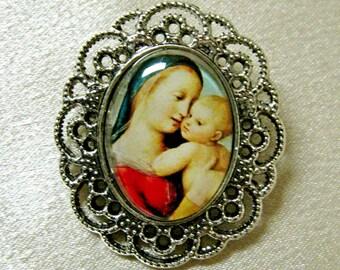 Madonna of the Tempi brooch - BR03-101