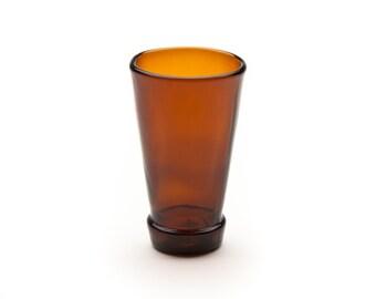 Brown Bottle Top Shot Glass