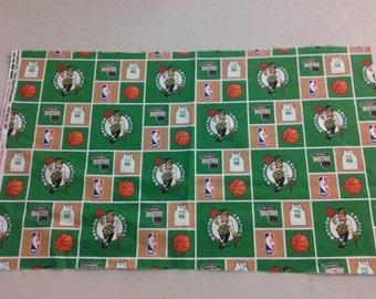 Boston Celtics fabric 245894