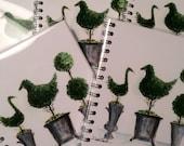 Topiary Trio Notebook