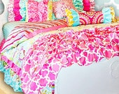 Big Girl Twin 2 Pc, Let's Design your Custom Big Girl Bedding, Best Prices and Best Quality Designer Children's Bedding, Beautiful Detail