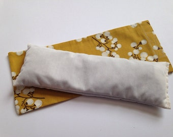 how to make buckwheat eye pillow