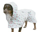 Hooded Dog Raincoat, Unlined, Custom made for your dog