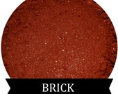 Dark Burnt Red Orange Eyeshadow BRICK
