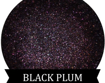 BLACK PLUM Dark Purple Eyeshadow