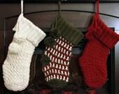Crochet PATTERN Brighton Christmas Stocking Crochet Christmas Stocking Pattern One Size