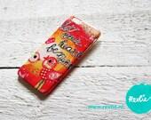 "iphone 6 case. 3D print. ""let your heart be light"". limited edition design by Revlie Schuit"