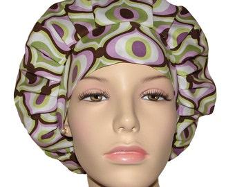 Scrub Hats - Groovy In Lavender