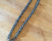 Titanium Byzantine Chain Extension 2""