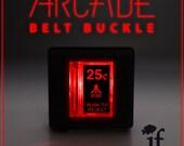 Arcade Belt Buckle... that lights up - ATARI