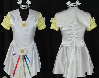 Sailor Cosmos Sailor Moon Costume Cosplay Adult Women's Size 4 6 8 10 12 14
