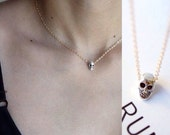 Little Skull Necklace - Celebrity Style Necklace