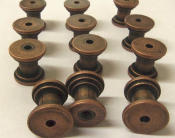 Free Shipping  Diy Knob Bases Antique Copper Make Your Own Drawer Pulls