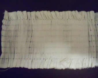 Smocking: Pleated Insert for Clothing