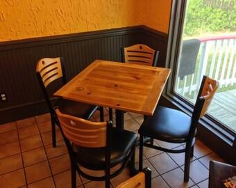 Commercial Restaurant Table Tops Laser Engraved