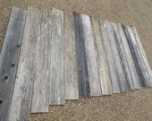 Reclaimed Old Fence Wood Boards - 15 Fence Boards - 48 Inch Length - Weathered Barn Wood Planks - Great For Rustic Crafting!