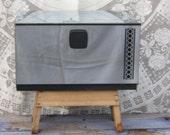 Vintage Kromex Chrome Metal Bread Box, Food Storage, Mid Century Kitchen, Kitchen Collectible, Mid Century Modern, Bread Board