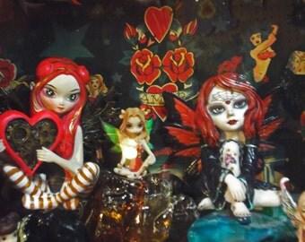 Fairies & Tattoos Shadow Box