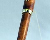 24kt Gold Havana Twist Pen - Hawaiian Koa