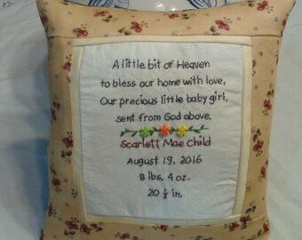 Baby pillow samplier
