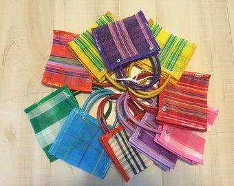 25 Mini Mexican Mercado Bag Party Favor Gift Bags #002