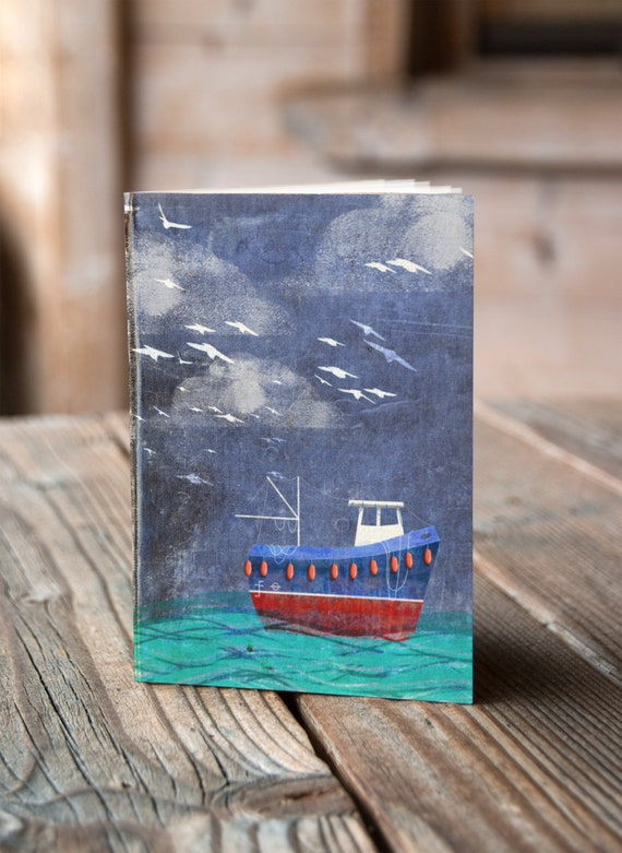 Fishing Boat - Notebook / Sketchbook / Journal