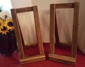 wood easel , wooden wedding easel , rustic wedding sign / painting easel , chalkboard easel , floor easel ,artist easel , picture easel